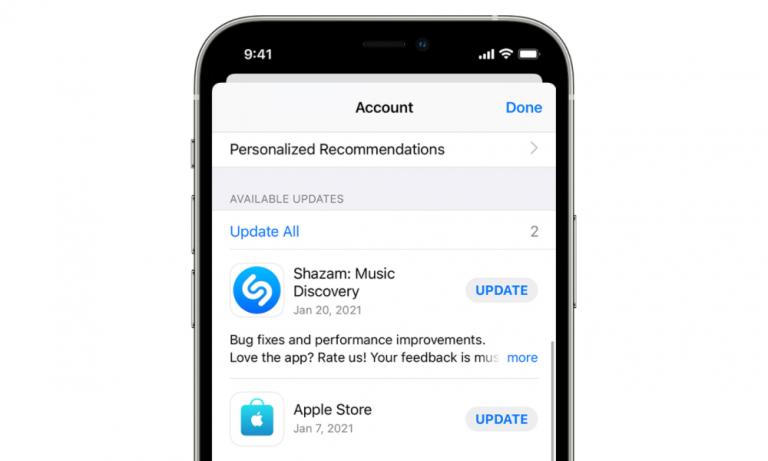 App Store updates
